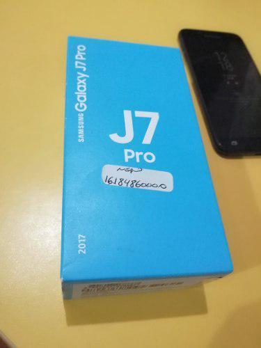 Samsung j7 pro - usado con detalle