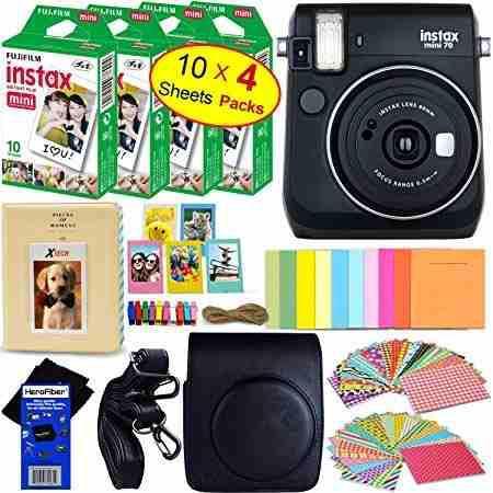 Mini album de fotos 64 ranuras para Fujifilm Instax Mini pelicula mini 8 7s 2 v9