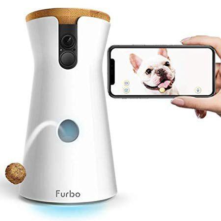 Furbo perro camera: treat mantear, hd wifi cam, y 2vías