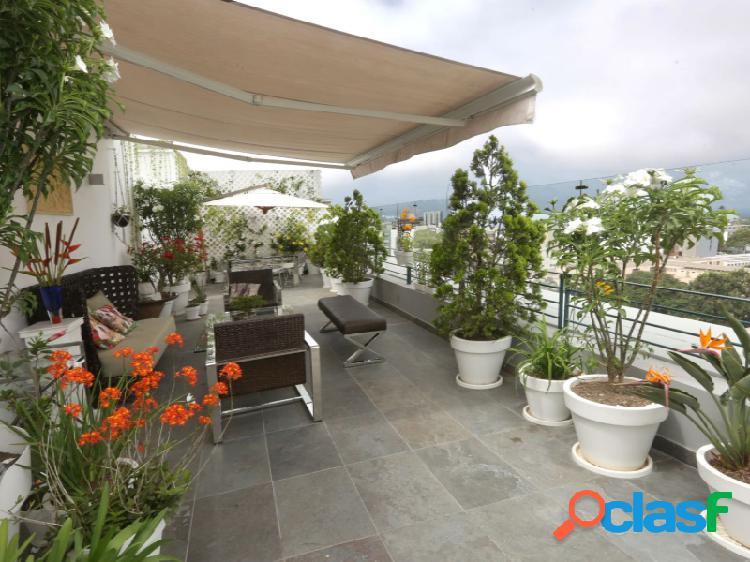 Exclusivo penthouse en alquiler en san isidro hermoso zona de parques 4 dormitorios terraza