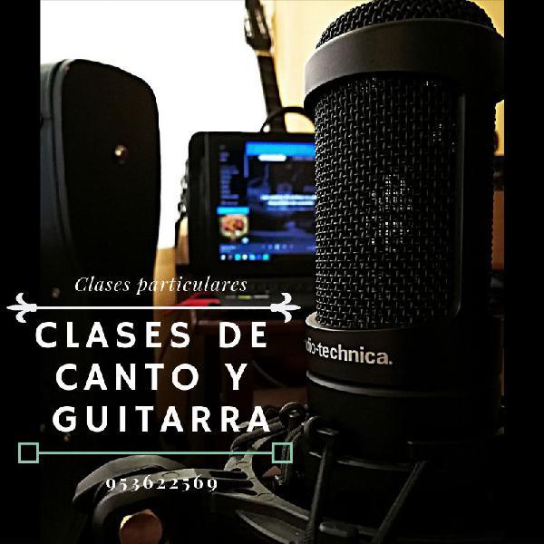 Clases de guitarra,canto y más!!