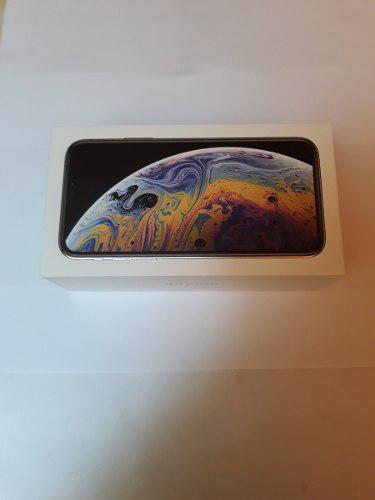 Celular iphone xs silver 64gb nuevo en caja 1 año garantia