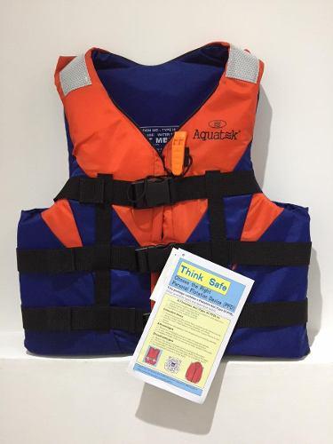 Chalecos salvavidas aquatek para niños de hasta 6 años