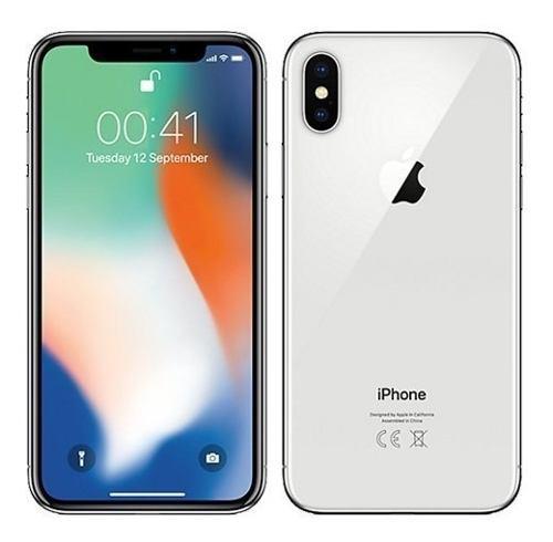 Iphone x 64gb silver apple nuevo sellado tienda garantía