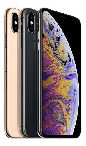 Iphone xs max 64gb space gray libre de fabrica
