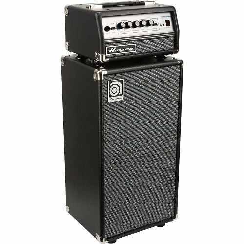 Amplificador cabezal gabinete 200w ampeg micro vr stack