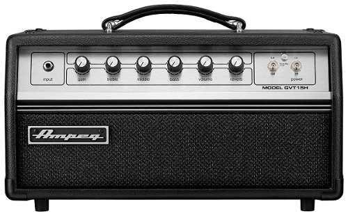 Amplificador cabezal para guitarra a tubos ampeg gvt15h