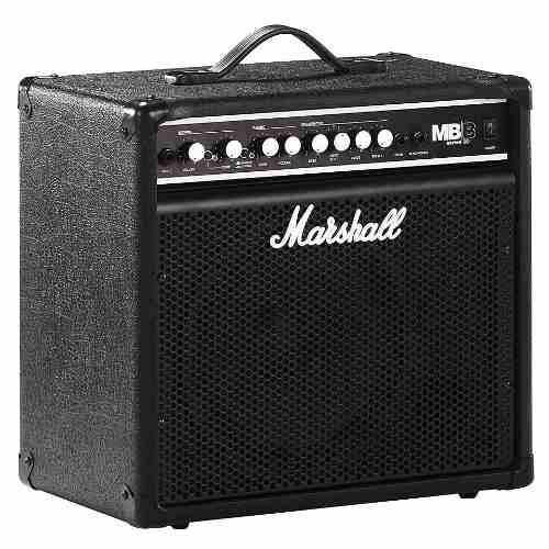 Amplificador de bajo marshall mb30e + dscto + envio