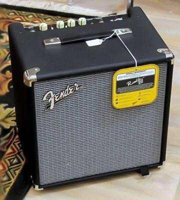 Amplificador fender rumble 25 amplificador de bajo 25 w