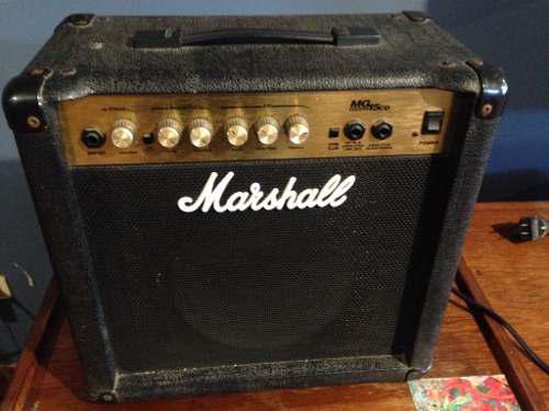 Amplificador guitarra marshall mg15cd