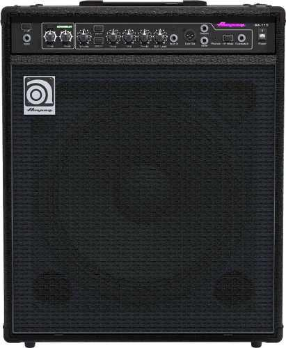 Amplificador para bajo ampeg ba-115v2 15'' 150w ba115v2