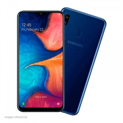 Celular smartphone samsung galaxy a20 6.4 720x1560 andr...