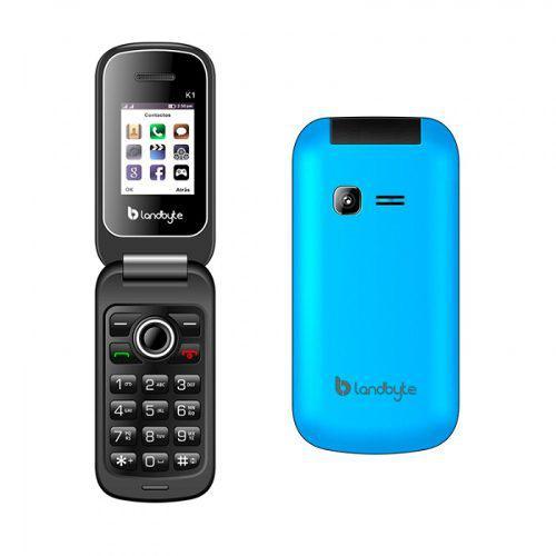 Celular teléfono básico landbyte k1 1.77 dual sim 2...