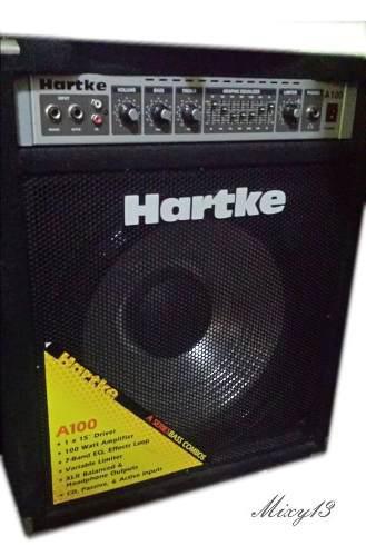 Hartke a100 amplificador bajo parl aluminio.calidad.sonido++