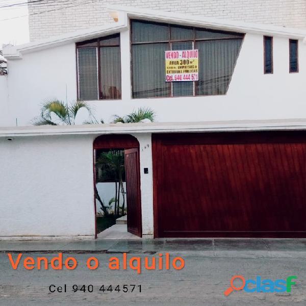 Venta o alquiler de inmueble de 300 m2 en Calle Pimentel, Urbanización Santa Victoria, Chiclayo