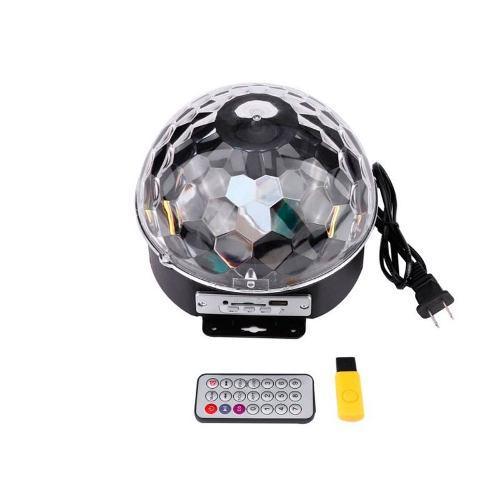 Bola con luces sicodelicas con parlante bluetooth celular pc