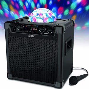 Parlante audio con luces y efectos de karaoke de usa
