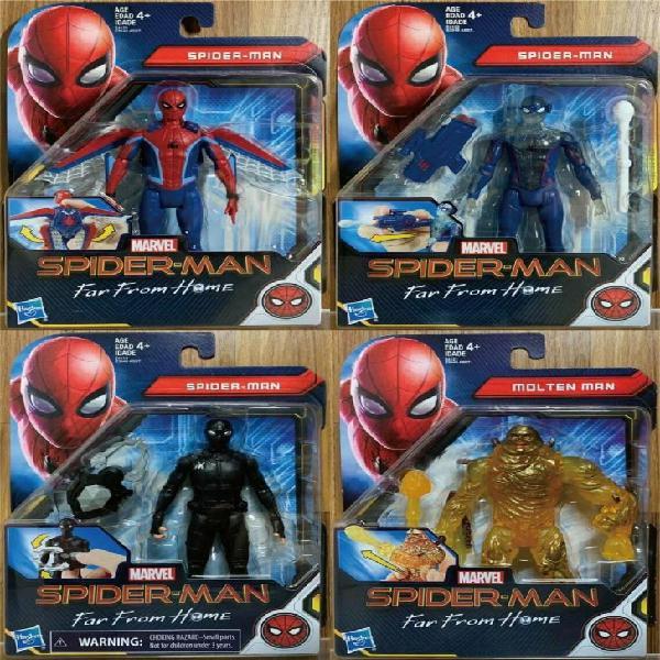 Spiderman lejos de casa película original figuras marvel