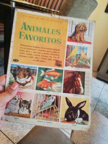 Album un libro de oro de estampas animales favoritos novaro