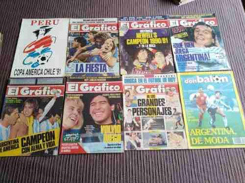Copa américa 1991- colección revista el gráfico-argentina
