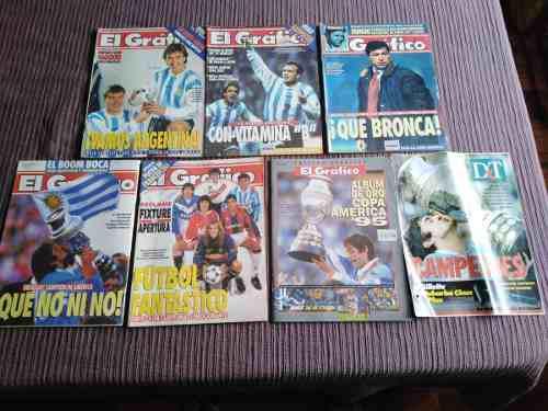 Copa américa 1995 - colección revista el