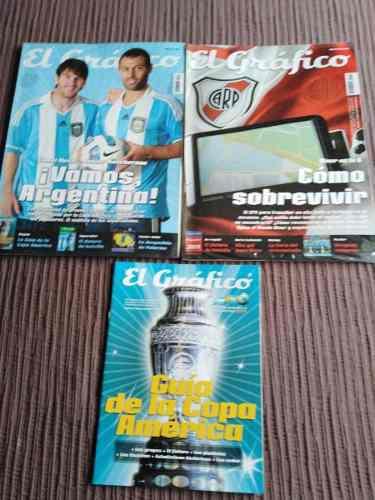 Copa américa 2007-colección revista el gráfico y otros