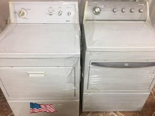 Lavadoras y secadoras a gas whirlpool - kenmore importadas
