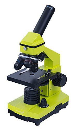 Levenhuk 2l ng cal microscopio monocular tres objetivos 64