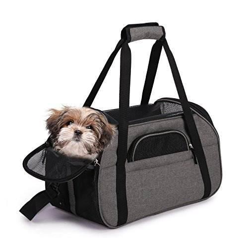 Portador del animal domestico de la cara suave comfort 17 y