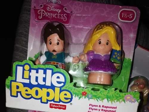 Fisher price little people pack de princesas bella y rapunze