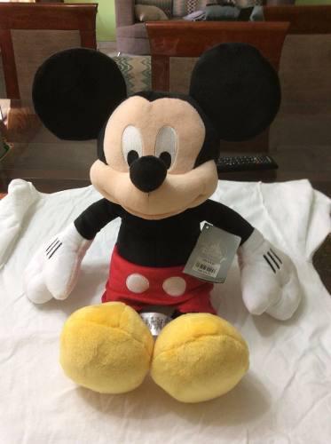 Mickey mouse 48 cm peluche clasico disney store importado