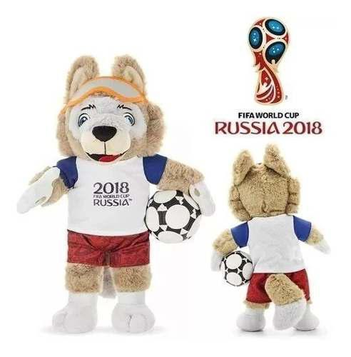 Peluche muñeco mascota oficial mundial rusia 2018 original