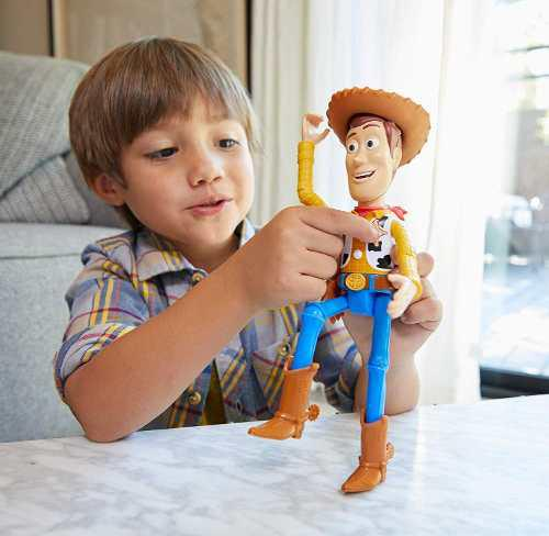 Toy story 4 true talkers woody figura parlante