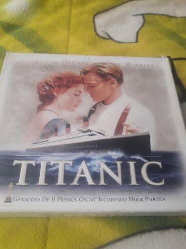 Vídeos vhs de la película titanic