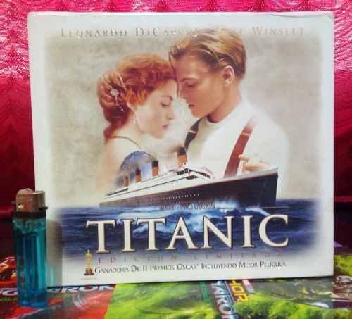 Vhs Titanic - Edición Limitada De Colección (completo)