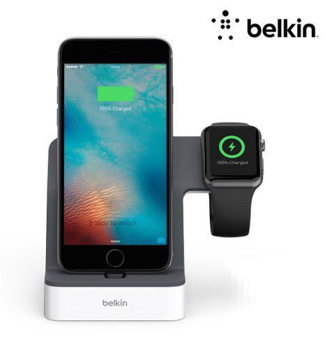 Cargador belkin powerhouse @ apple watch iphone xs xr 7 8 6s