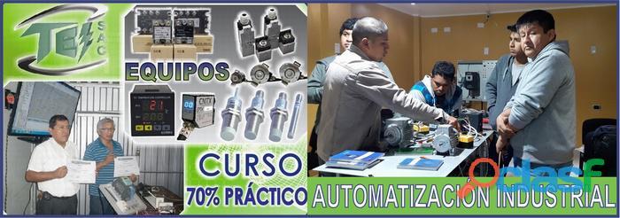 AUTOMATIZACION Y CONTROL DE PROCESOS   CURSOS