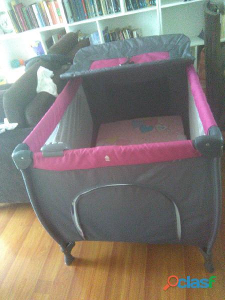 Cuna corral infanti + colchón + coche cuna negociable