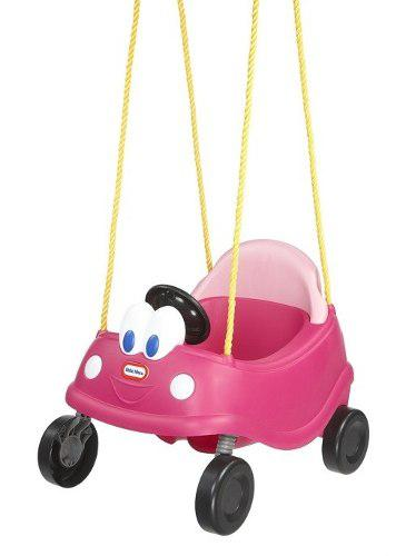 Little tikes - columpio cozy coupe rosado