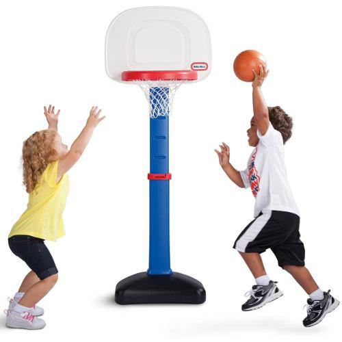 Little tikes - set de basketball regulable chico