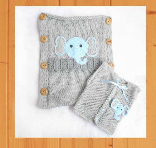 Porta bebe con chaleco bebe crochet 0-3 mese baby shower