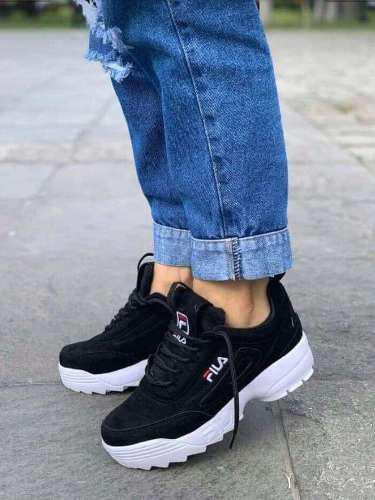 Zapatillas fila disruptor de moda