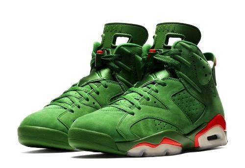 new product 59376 361d3 Zapatillas Nike Air Jordan 6 Retro Gatorade Green