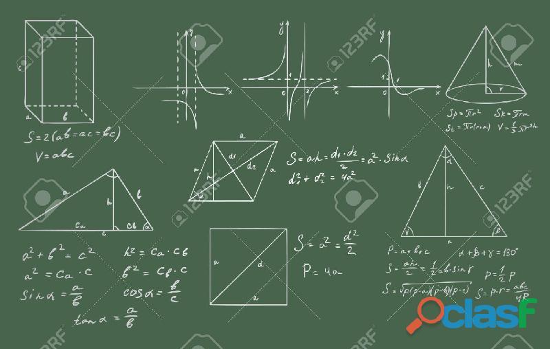 Clases de geometría