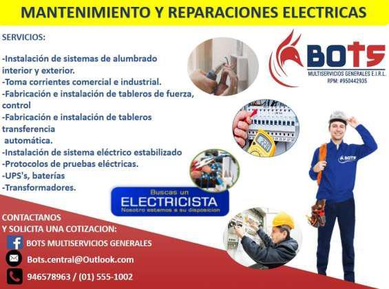 Electricidad / electricistas / instalaciones, reparacion,