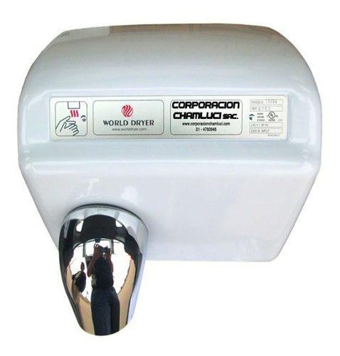 Secador de manos automático blanco 2300 w marca world dryer