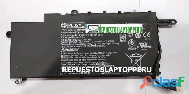 Bateria hp orginal pavilion 11 n x360 pl02xl