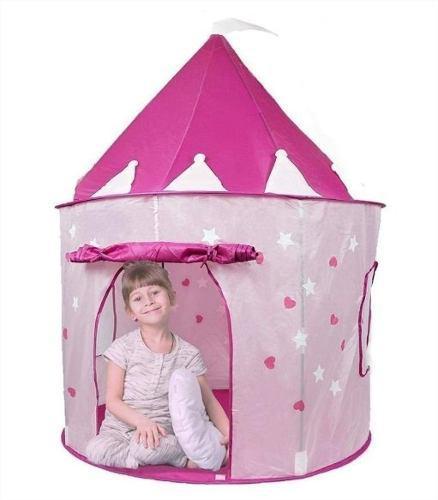 Casa castillo carpa niñas rosado princesa lince
