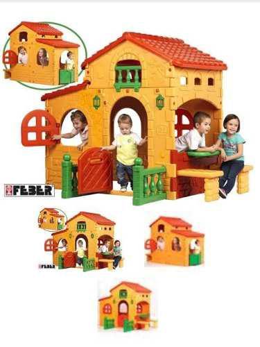 Casa de juegos feber little tikes