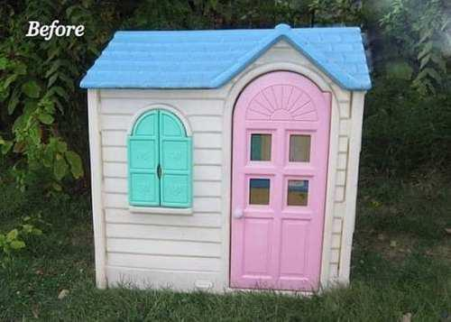 Casa little tikes juguete country cottage playhouse vintage